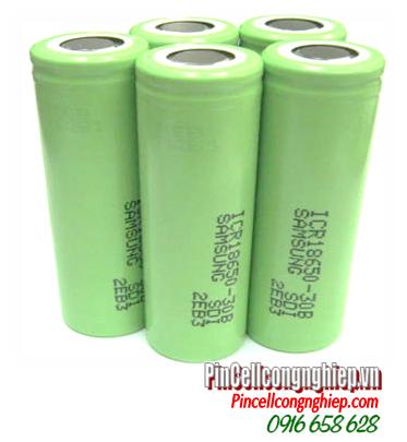 ICR18650-30B, Pin sạc 3.7v Lithium Li-Ion Samsung ICR18650-30B, 3000mAh