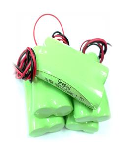 Pin sạc 2.4v-AA2300mAh, Pin sạc công nghiệp NiMh-NiCd 2.4v-AA2300mAh
