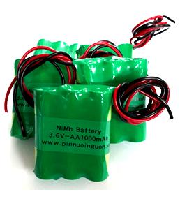 Pin sạc 3.6v-AA1000mAh, Pin sạc công nghiệp NiMh-NiCd 3.6v-AA1000mAh