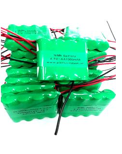 Pin sạc 4.8v-AA1000mAh, Pin sạc công nghiệp NiMh-NiCd 4.8v-AA1000mAh