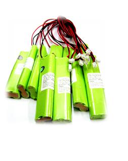 Pin sạc 4.8v-AA600mAh, Pin sạc công nghiệp NiMh-NiCd 4.8v-AA600mAh
