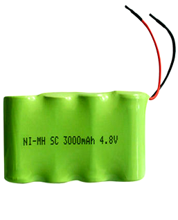 Pin sạc 4.8v-SC2000mAh, Pin sạc công nghiệp NiMh-NiCd 4.8v-SC2000mAh