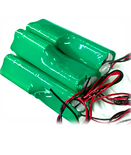 Pin sạc 6v-18670-4200mAh, Pin sạc công nghiệp NiMh-NiCd 6v-18670-4200mAh