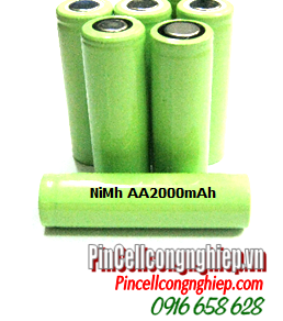 NiMh AA2000mAh; Pin sạc công nghiệp 1.2v NiMh AA2000mAh